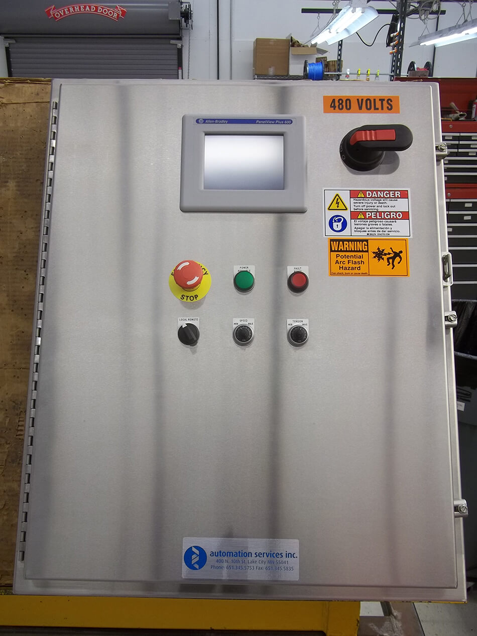 Ul Cul 508a Control Panel Build Automation Services Inc Main Wiring 1